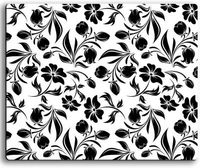 ARMANTARA Printed Floral Mousepad For Mouse - 452 Mousepad(Multicolor)