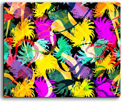 ARMANTARA Printed Floral Mousepad For Mouse - 407 Mousepad(Multicolor)
