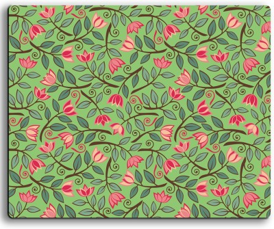 ATULIT Printed Floral Mousepad For Mouse - 424 Mousepad(Multicolor)
