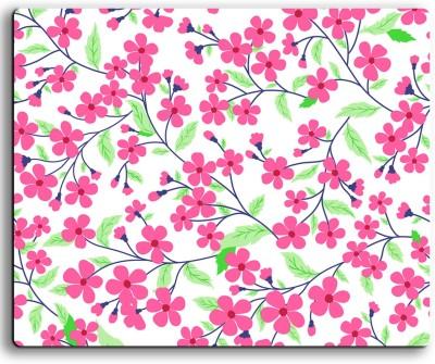 ARMANTARA Printed Floral Mousepad For Mouse - 498 Mousepad(Multicolor)