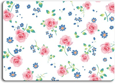 ATULIT Printed Floral Mousepad For Mouse - 062 Mousepad(Multicolor)