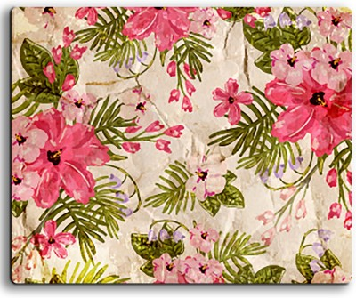 ARMANTARA Printed Floral Mousepad For Mouse - 355 Mousepad(Multicolor)