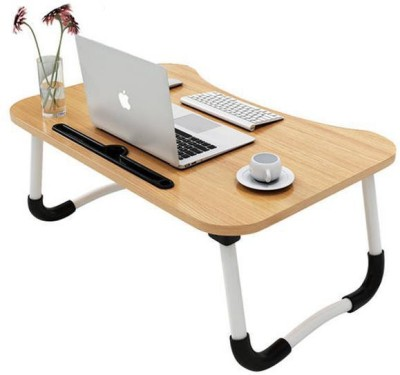 MemeHO Normal Wood Wood Portable Laptop Table(Finish Color - Wood)
