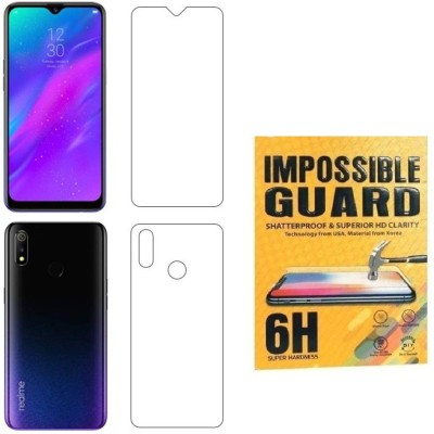 QuikDeal Impossible Screen Guard for Realme 3 (Dynamic Black, 64 GB)(4 GB RAM)(Pack of 1)