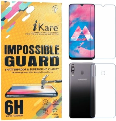 iKare Front and Back Screen Guard for Samsung Galaxy M30(Pack of 2)