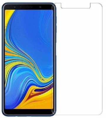 KHR Screen Guard for Samsung Galaxy A7 2018 Unbreakable & Flexible Scratch Proof HD Clear Screen Protector(Pack of 1)
