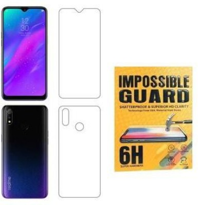 Karpine Front and Back Screen Guard for Oppo F9, OPPO F9 Pro, Realme 2 Pro, Realme U1, Realme 3 Pro(Pack of 1)