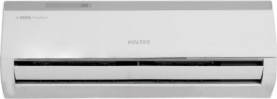View Voltas 1 Ton 3 Star Split AC  - White(123 DZW, Copper Condenser) Price Online(Voltas)