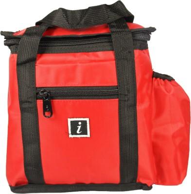 FabSeasons I301red Waterproof Lunch Bag Red, 5 inch FabSeasons Bags, Wallets   Belts