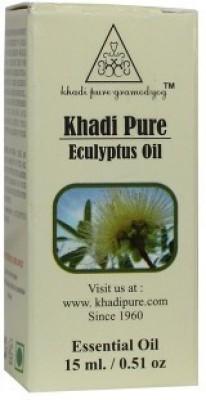 Khadi Pure Herbal Eucalyptus Essential Oil - 15ml(15 ml)