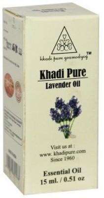 Khadi Pure Herbal Lavender Essential Oil - 15ml(15 ml)