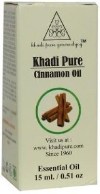 Khadi Pure Herbal Cinnamon Essential Oil - 15ml(15 ml)