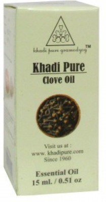Khadi Pure Herbal Clove Essential Oil - 15ml(15 ml)