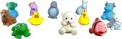 XHAIDEN Chu Chu Bath Toys for Baby Non-Toxic Toddler Set Multi Color Bath Toy(Multicolor)