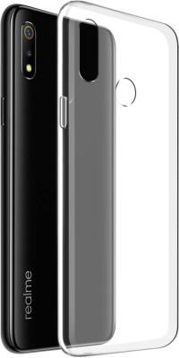 Flipkart SmartBuy Back Cover for Realme 3, Realme 3i(Transparent, Silicon)