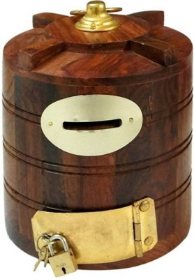 Online Collection Ocf0721 Coin Bank(Brown)