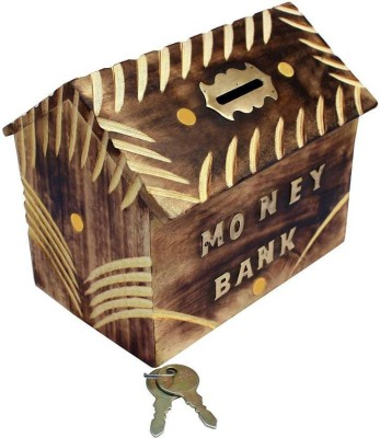 Online Collection Ocf0722 Coin Bank(Brown)