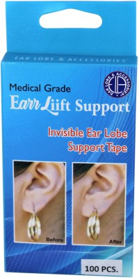 Ear Lobe & Accessories Reusable Ear Lobe Support(Pack of 100)