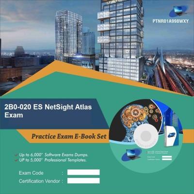 PTNR01A998WXY 2B0-020 ES NetSight Atlas Exam Practice Exam E-Book Set(DVD)