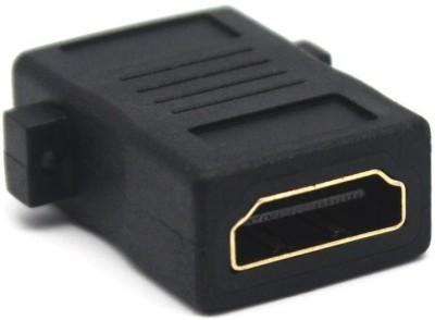 Fangtooth HDMI Female to Female Screw Lock Panel Mount Coupler Gender Changer Converter Extender Jointer Gaming Adapter