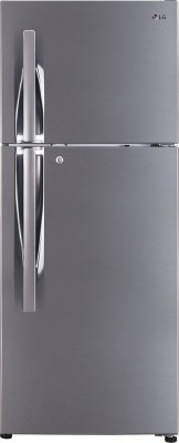 LG 235 L Direct Cool Single Door 5 Star Refrigerator with Base Drawer(Blue Plumeria, GL-D241ABPY)