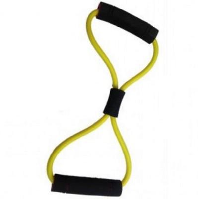 V.M Enterprises Figure 8 Band Workout Exercise Band For Unisex Yoga Resistance Tube Multicolor V.M Enterprises Resistance Tubes