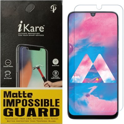 iKare Impossible Screen Guard for Samsung Galaxy M30(Pack of 1)