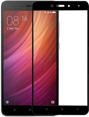 BigChoice Edge To Edge Tempered Glass for Mi Redmi Note 4 (6D Full Glue, 9H Glass)(Pack of 1)