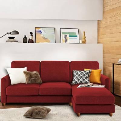 Adorn Homez DIVINE Fabric 4 Seater  Sofa