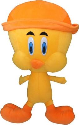 Lata Yellow and Orange Canary Bird With Cap   52 cm Yellow[[Orange Lata Soft Toys