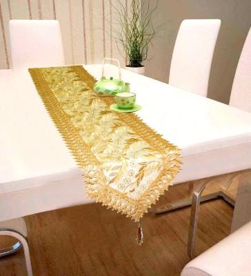 LooMantha Gold 200 cm Table Runner Silk