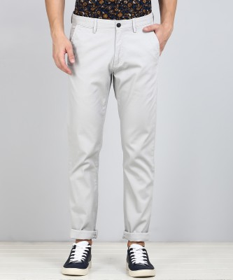 Arrow Sport Regular Fit Men Grey Trousers at flipkart