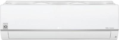 View LG 1.5 Ton 3 Star Split Dual Inverter AC  - White(KS-Q18SNXD, Copper Condenser) Price Online(LG)