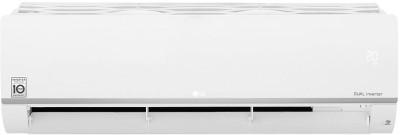 View LG 2 Ton 3 Star Split Dual Inverter AC  - White(KS-Q24SNXD, Copper Condenser) Price Online(LG)
