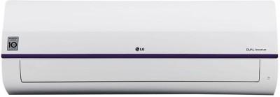 View LG 1.5 Ton 3 Star Split Dual Inverter AC  - White(KS-Q18BNXD, Copper Condenser) Price Online(LG)