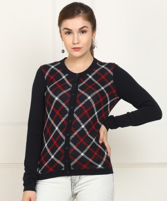 Tommy Hilfiger Women Button Solid Cardigan