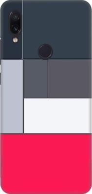 COBIERTAS Back Cover for Mi Redmi Note 7 Pro(3d Boxes Design, Hard Case)