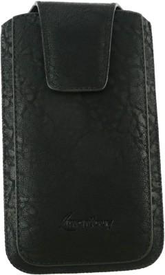 Emartbuy Pouch for Lava Xolo Q800 X-Edition(Black Classic)