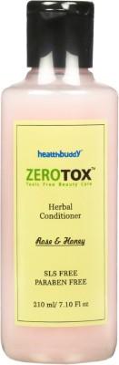 Healthbuddy Zerotox Herbal Conditioner Rose & Honey 210 ml(210 ml)