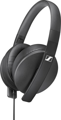 Sennheiser HD 300 Wired Headphone(Black, Over the Ear)