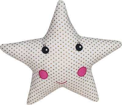 Oscar Home Star shaped Dotted Baby Pillow Pack of 1(White)