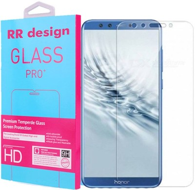 RR DESIGN Tempered Glass Guard for Honor 9 Lite(Pack of 1)