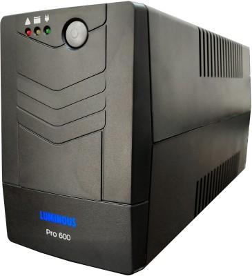 Luminous Pro 600VA (PC / LED TV / Router) UPS