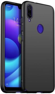 Unirock Back Cover for Redmi Note 7 Pro (Nebula Red, 128 GB) (6 GB RAM)(Luxury Matte Finish Rubberised Slim (♥Blue♥), Grip Case)