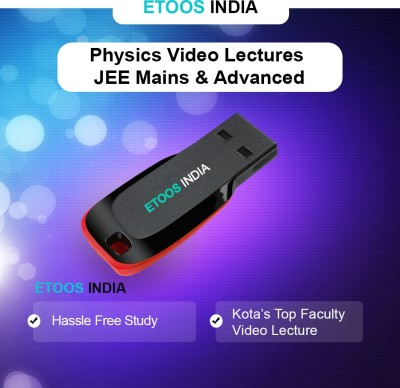 ETOOSINDIA IIT JEE VIDEO LECTURES: Complete Physics for Main & Advanced by NV Sir(USB) at flipkart
