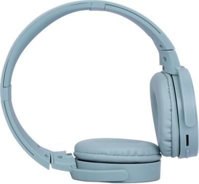 Zebronics ZEB-SMARTPLUS Bluetooth Headset(Green, Wireless over the head)