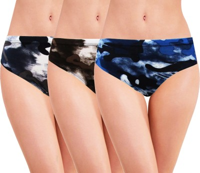 HAP Women Hipster Multicolor Panty(Pack of 10)