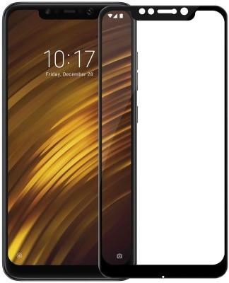 ShopeeQ Edge To Edge Tempered Glass for 6D Screen Protector xiaomi Redmi Mi Poco F1(Pack of 1)