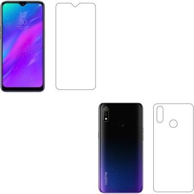Sajni Creations Front and Back Screen Guard for Realme 3, Realme 3i, Vivo Y93(Pack of 1)