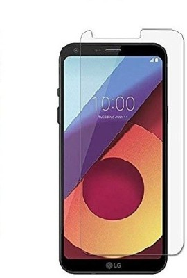 Slash Tempered Glass Guard for Lg Q6 Plus Effect Protective Tempered Glass(Pack of 1)